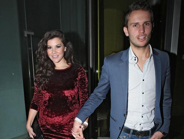 Imogen Thomas with boyfriend Adam Horsley