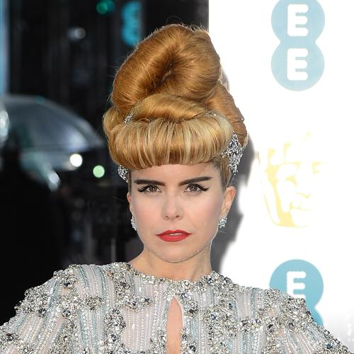 best bafta hair up do red carpet