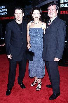 Premiere: Neve Campbell with brother (not Night Ranger's Sister) Christian and father Gerry at the LA premiere for Eyes Wide Shut Photo by Jeff Vespa/Wireimage.com