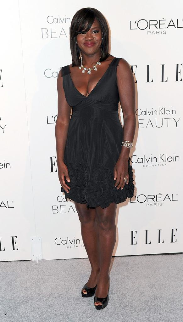 Elle's 17th annual Women in Hollywood Tribute 2010 Viola Davis