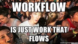 A Two Step Marketing Automation Strategy: Developing Workflows image workflow is just work that flows
