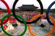 Photo illustration of the Olympic Rings at the Temple of Heaven in Beijing in1993. Chinese Olympians were subjected to a state-sponsored doping regime in the 1980s and 1990s, a retired chief medical supervisor revealed to Australian media on Friday
