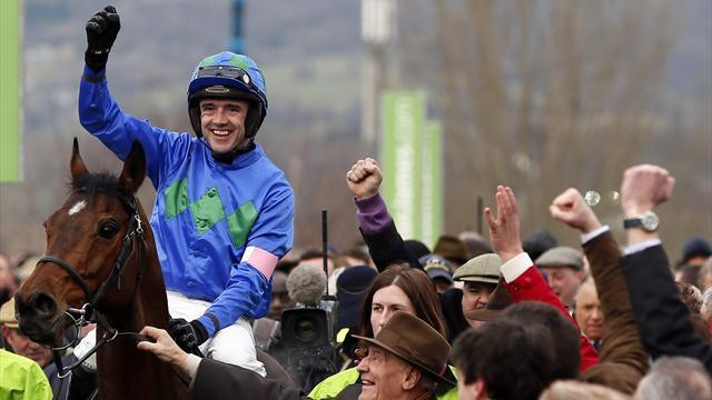 Horse Racing - Hurricane Fly wins Champion Hurdle as Walsh and Mullins star