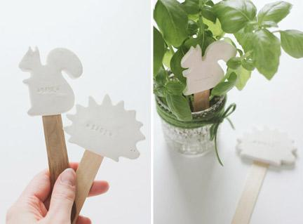 Make Cute Plant Labels