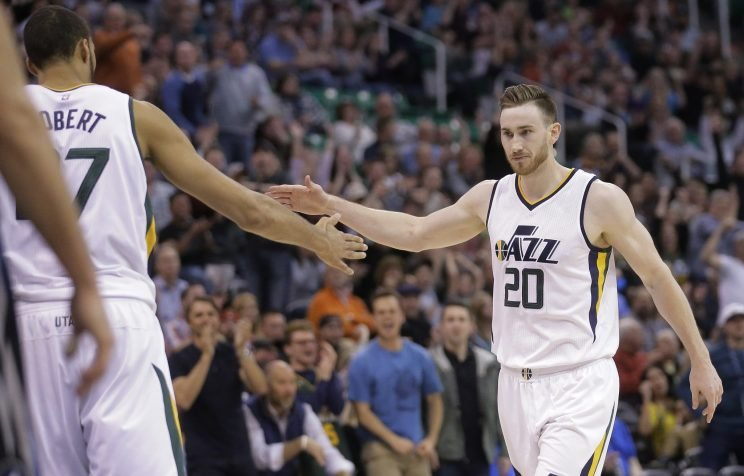 Gordon Hayward was suffering from food poisoning in Game 4. (AP)