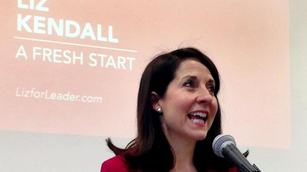 Labour leader contender Liz Kendall speaks at De Montfort University, where she made a pitch for party votes