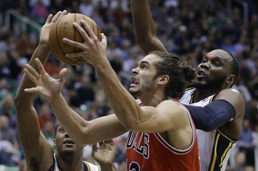 Boozer's big fourth lifts Bulls over Jazz