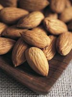 A handful of almonds a day will keep the bloat away. Err, is that how it goes?