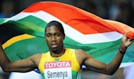 Former 800m world champion Caster Semenya, seen here in 2009, will be team South Africa's flag bearer at the Olympics in London