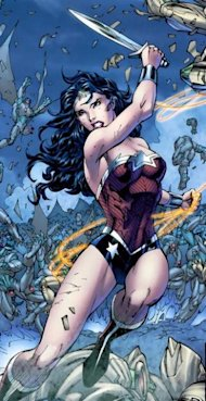 Warner Bros Confirm DC Movie Slate For Next 6 Years image Wonder Woman New 52 Jim Lee 309x600
