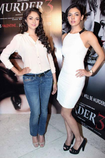 Randeep's hotties promote 'Murder 3'