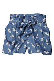 H&M dove print shorts