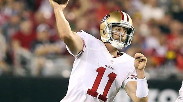 San Francisco 49ers quarterback Alex Smith (Reuters)