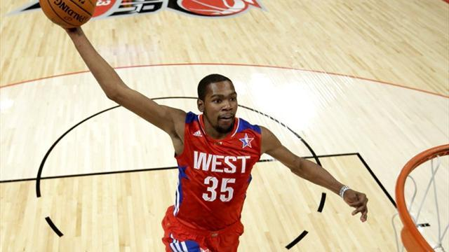 NBA - Durant leads West over East in All-Star game