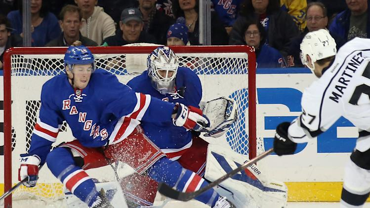 Los Angeles Kings v New York Rangers