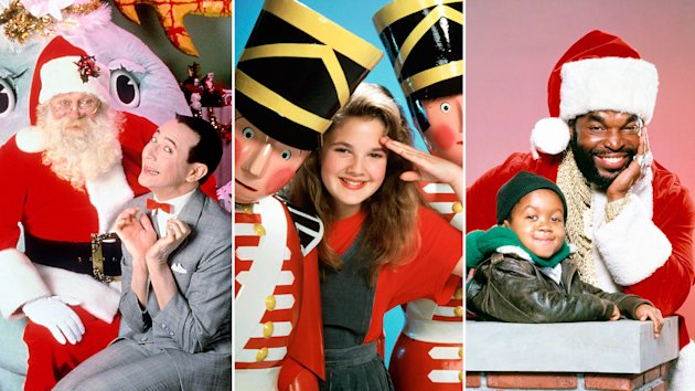 'Pee-Wee's Playhouse Christmas Special'; 'Babes in Toyland'; 'Mr. T and Emmanuel Lewis in a Christmas Dream' (Everett Collection)