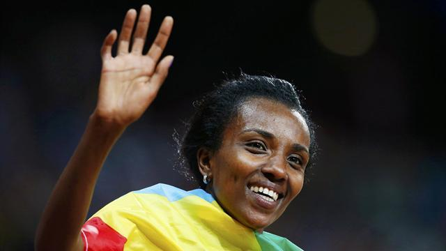 Athletics - Dibaba to race in London marathon