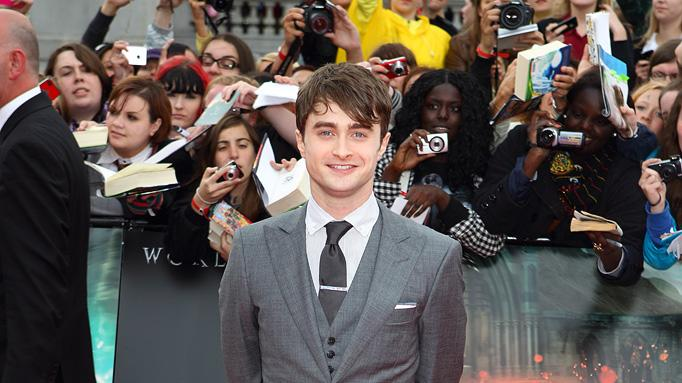 Harry Potter and the Deathly Hallows Part 2 UK Premiere 2011 Daniel Radcliffe