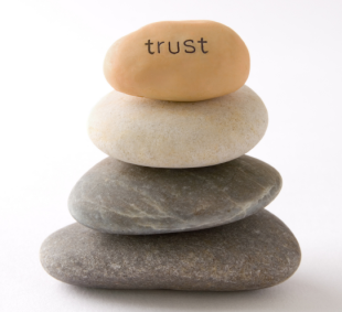 B2B Social Media in Financial Services May Be the Most Overlooked Strategy image trust stones