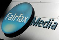 "Signage is displayed outside the Sydney office of Fairfax Media on June 18, 2012. Fairfax's third-largest stakeholder, funds management group Allan Gray, has warned that the company's main metropolitan dailies face closure, describing them as ""already worth less than nothing"""