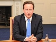 Cameron insists Britain making 'progress' into 2013