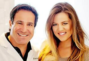 Dr Kevin Sands, Khloe Kardashian | Photo Credits: Courtesy of Dr Kevin Sands