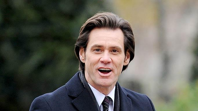Jim Carrey Mr Poppers Set