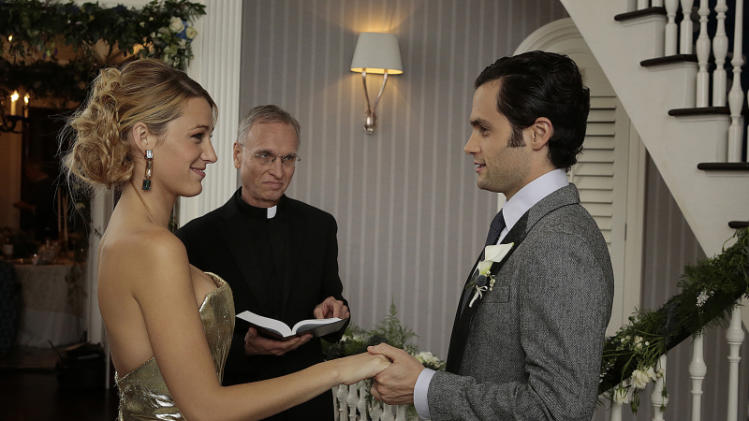 TV Wedding - Serena van der Woodsen and Dan Humphrey: ?Gossip Girl? (2012)