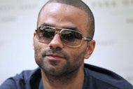 NBA star Tony Parker, seen here on June 15, is suing the owners of a New York nightclub after suffering an eye injury in a bottle-throwing brawl between friends of R&B singer Chris Brown and rapper Drake, according to the New York Post