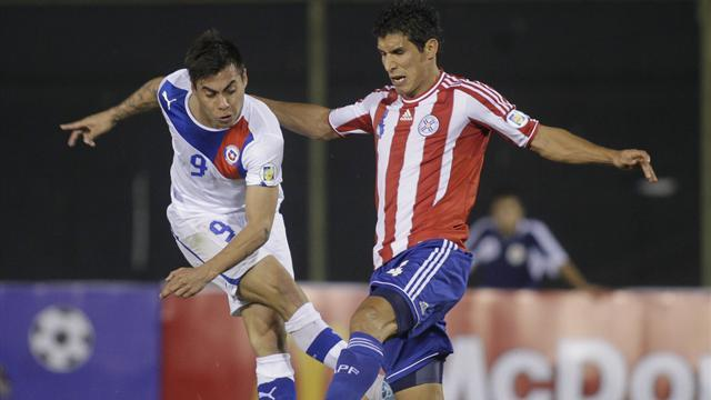 World Cup - Chile boost World Cup chances with win over Paraguay