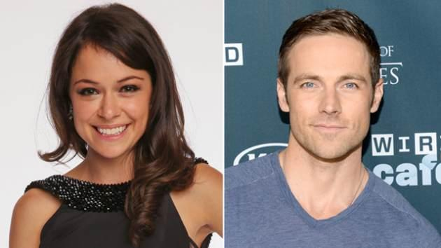 Tatiana Maslany, Dylan Bruce -- Getty Images