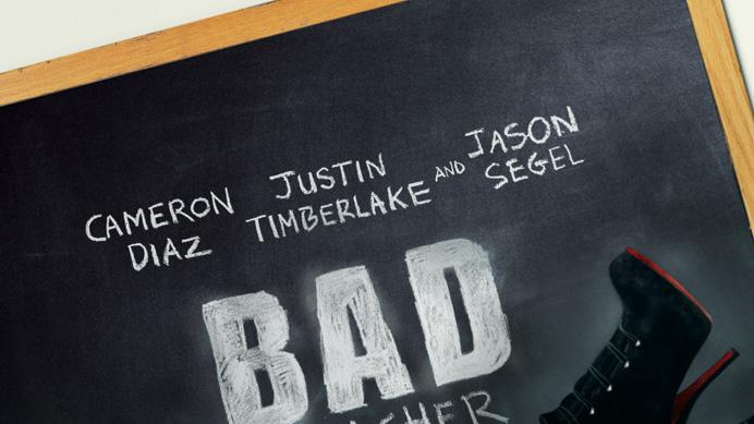 Bad Teacher 2011 Columbia Pictures Poster