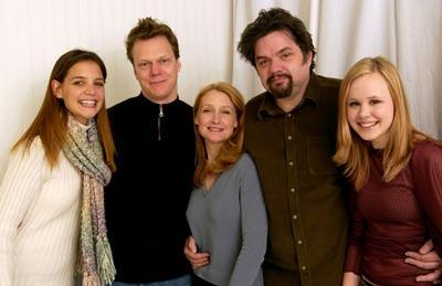Katie Holmes, Peter Hedges, Patricia Clarkson, Oliver Platt and Allison Pill Pieces of April Sundance Film Festival 1/19/2003