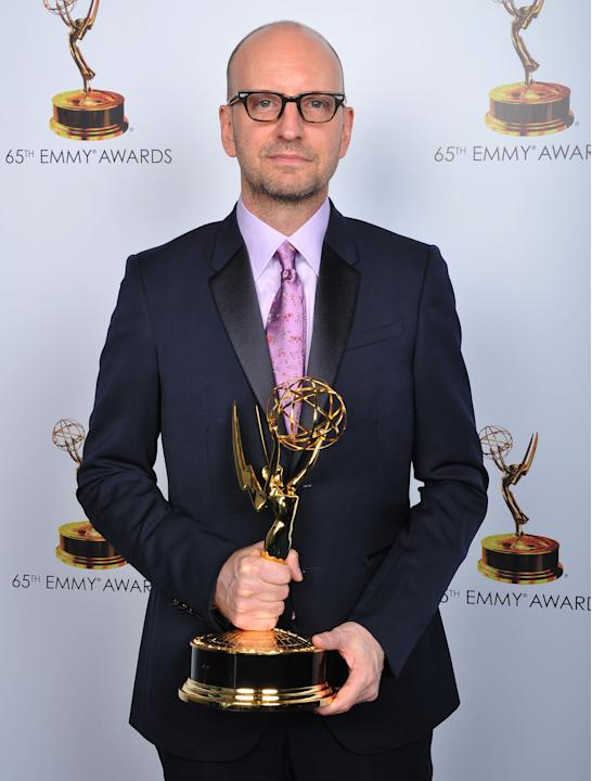 Steven Soderbergh poses for a portrait at the 2013 Primetime Creative Arts Emmy Awards, on Sunday, September 15, 2013 at Nokia Theatre L.A. Live, in Los Angeles, Calif. (Photo by Vince Bucci/Invision