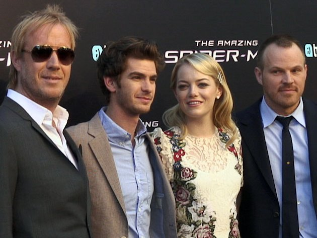 El equipo de The Amazing Spiderman