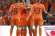 Van Marwijk unsure whether Van Persie and Huntelaar will both start at Euro 2012