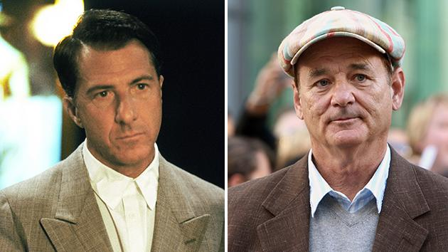 Dustin Hoffman and Bill Murray