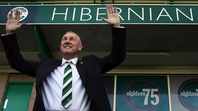Scottish Premiership - Butcher to start Hibs job in stands