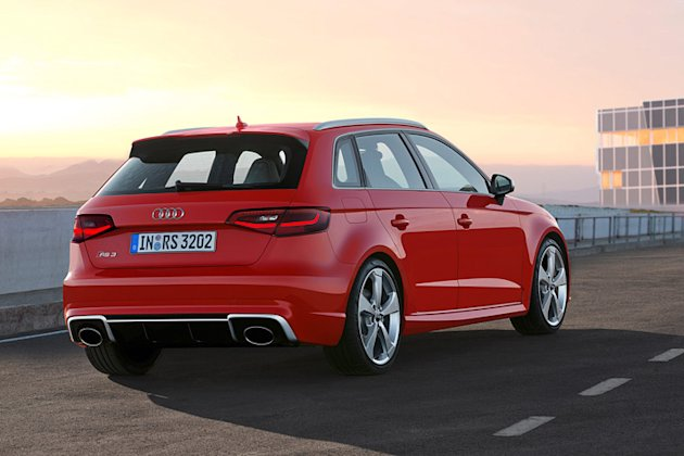 rs3 audi sportback photo rearview