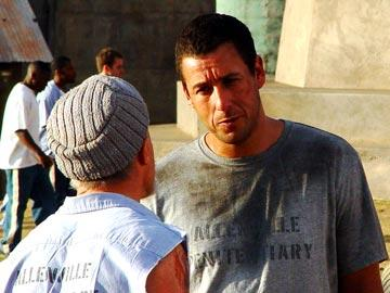 Adam Sandler in Paramount Pictures' The Longest Yard