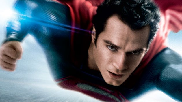 Henry Cavill as Superman in 'Man of Steel'