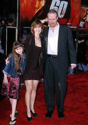 Gale Anne Hurd with her family at the Westwood, CA National Theatre premiere of Touchstone's Gone In 60 Seconds