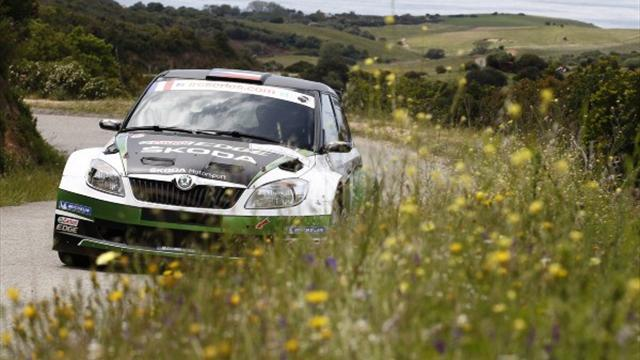 ERC - Kopecky celebrates ERC title with big lead in Croatia