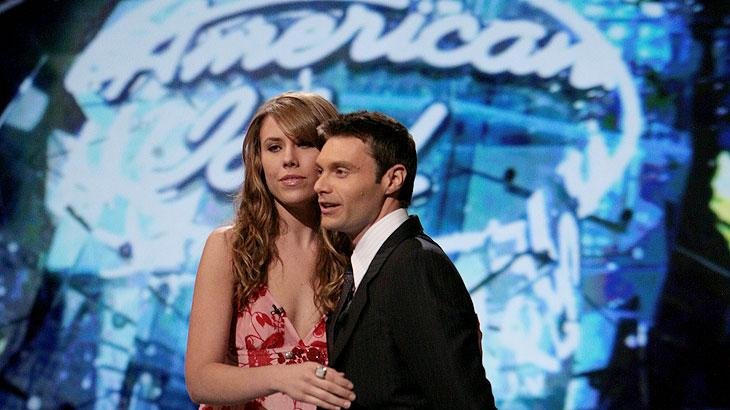 Amy Krebs is eliminated on Season 6 of American Idol.