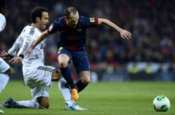Iniesta: Barcelona leaves the Bernabeu with a bad taste in the mouth