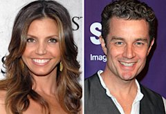 Charisma Carpenter and James Marsters | Photo Credits: Mark Sullivan/WireImage.com; Chelsea Lauren/WireImage.com