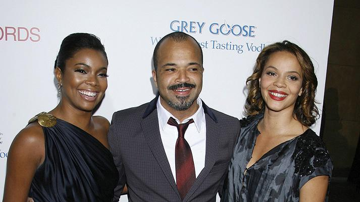 Cadillac Records LA premiere 2008 Gabrielle Union Jeffrey Wright