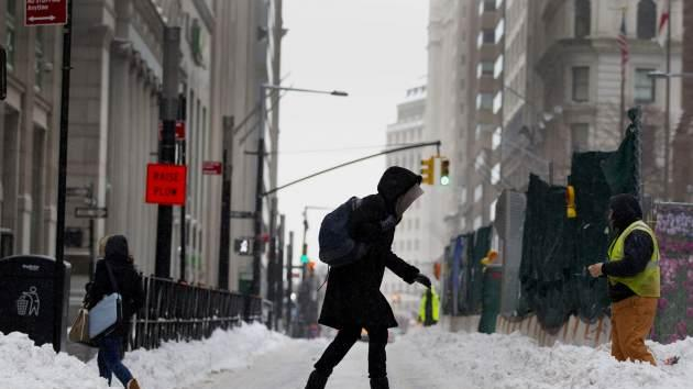 Winter weather can wreak havoc on your skin! -- Getty Images