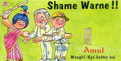 On Shane Warne and Mark Waugh being punished for hobnobbing with bookmakers (2000)