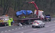 M6 Crash: Two Children Killed On Motorway